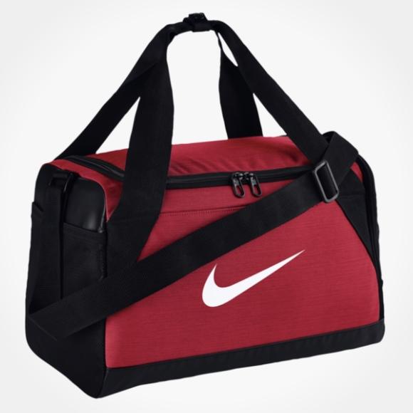 Nike Bags   Brasilia Noble Pink Red Xsmall Duffel Bag   Poshmark 20c04e064b